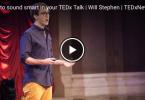 humoros TED előadás, bármilyen tudás nélkül