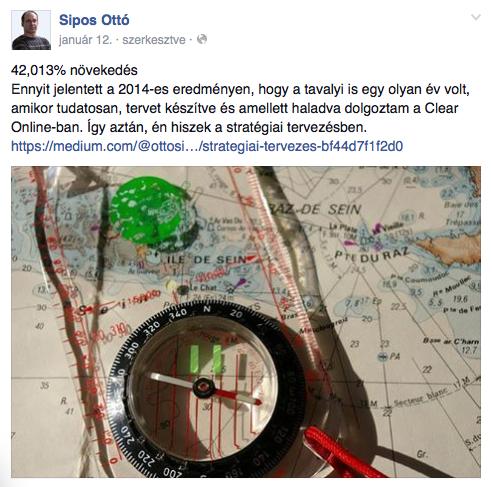 Példa blog poszt Facebook kiemelt hirdetéses népszerűsítésére