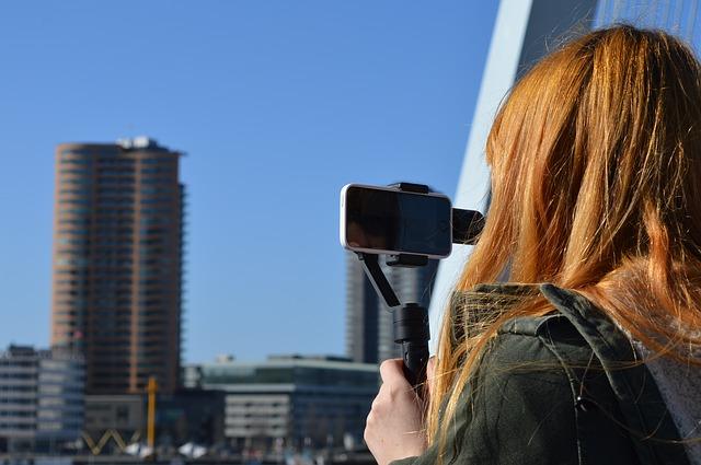 titkos videó készítés nap közben a városban